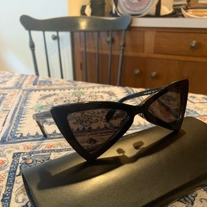 YSL Jerry Bow Tie Sunglasses